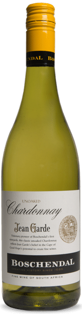 Boschendal Jean Garde Chardonnay unwooded | Zuid-Afrika | gemaakt van de druif: Chardonnay