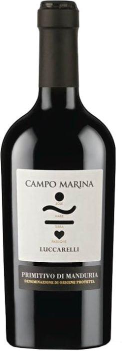 Campo Marina – Primitivo Di Manduria | Italië | gemaakt van de druif: Primitivo