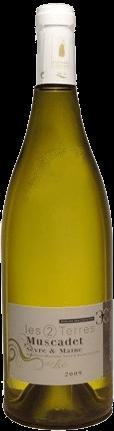 Domaine des Cognettes – Muscadet Sèvre & Maine Les 2 Terres (bio) | Frankrijk | gemaakt van de druif: Melon de Bourgogne