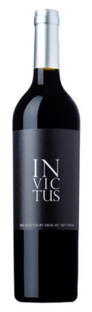 Druk My Niet Invictus   Zuid-Afrika   gemaakt van de druif: Cabernet Franc, Cabernet Sauvignon, Merlot