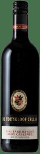 Du Toitskloof Robuust Red | Zuid-Afrika | gemaakt van de druif: Merlot, Pinotage, ruby cabernet