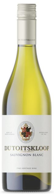 Du Toitskloof Sauvignon Blanc   Zuid-Afrika   gemaakt van de druif: Sauvignon Blanc