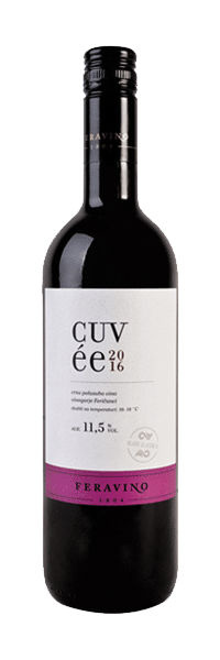 Feravino Classic Cuvee | Kroatië | gemaakt van de druif: Merlot, Syrah, Zweigelt