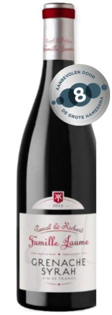 Domaine Jaume Grenache Syrah | Frankrijk | gemaakt van de druif: Grenache Noir, Syrah