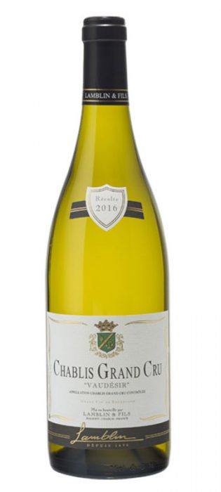 Lamblin & Fils Chablis Grand Cru Vaudésir | Frankrijk | gemaakt van de druif: Chardonnay