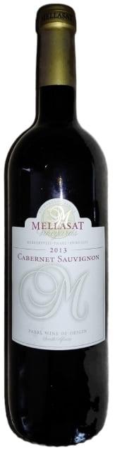 Mellasat Cabernet Sauvignon   Zuid-Afrika   gemaakt van de druif: Cabernet Sauvignon