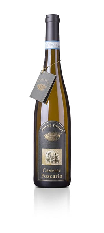 Monte Tondo Casette Foscarin Soave Classico   Italië   gemaakt van de druif: Garganega, Trebbiano