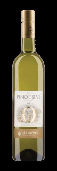 Orahovica Pinot Sivi (Gris)   Kroatië   gemaakt van de druif: Pinot Gris