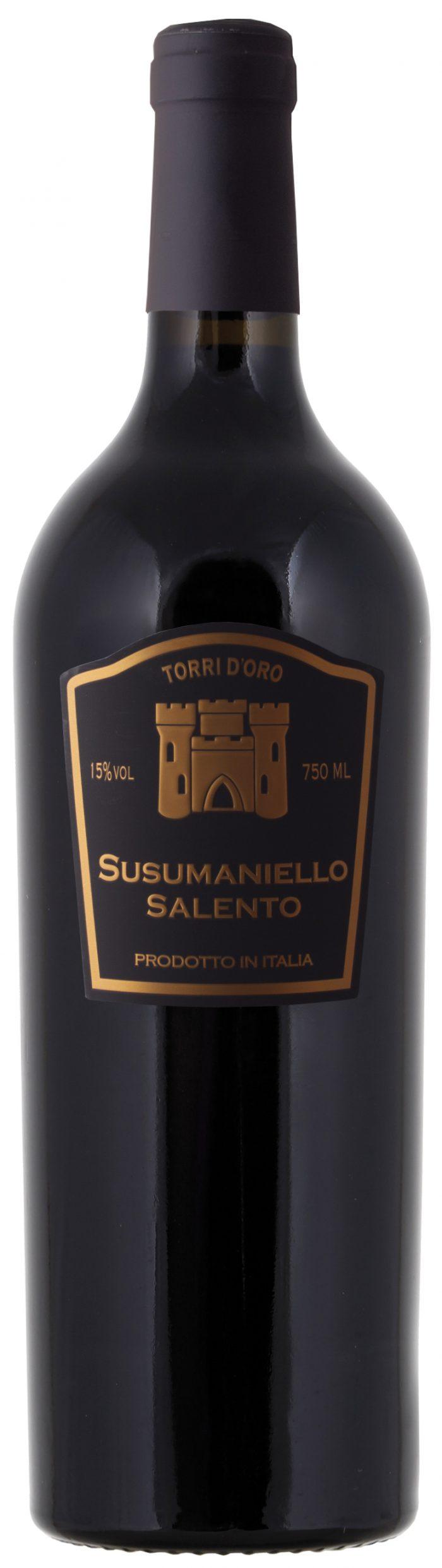 Torri d'Oro Susumaniello – Salento   Italië   gemaakt van de druif: Niet bekend, susumaniello