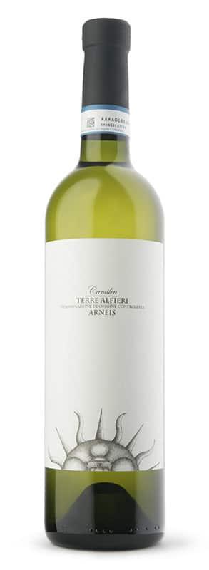 Vincenzo Bossotti Camilin Terre Alfieri Arneis   Italië   gemaakt van de druif: Arneis, Chardonnay