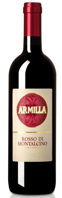 Armilla Rosso di Montalcino | Italië | gemaakt van de druif: Sangiovese