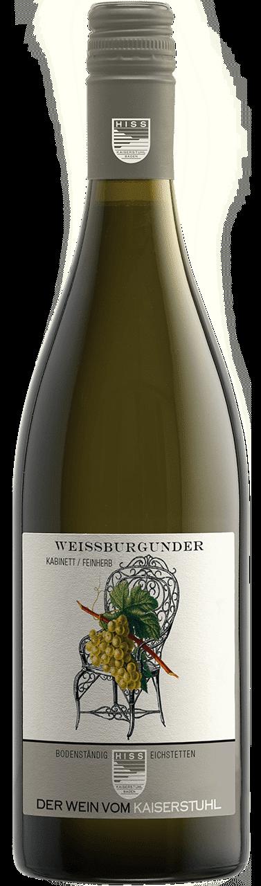 Weingut Hiss – Baden Weissburgunder Kabinett Feinherb | Duitsland | gemaakt van de druif: Pinot Blanc, Weissburgunder