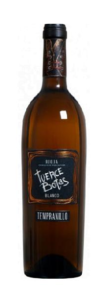 Bodegas del Medievo Tuerce Botas Tempranillo Blanco   Spanje   gemaakt van de druif: tempranello blanco