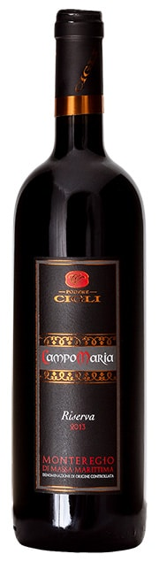 Cigli Campo Maria DOC | Italië | gemaakt van de druif: Cabernet Sauvignon, Merlot, Sangiovese