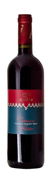 Cigli Toscana Rosso IGT | Italië | gemaakt van de druif: Cabernet Franc, Sangiovese