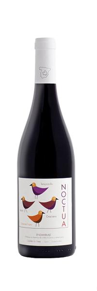 Clivia Quinta de Aves Noctua Ensamblaje | Spanje | gemaakt van de druif: Cabernet Franc, Graciano, Merlot, Tempranillo