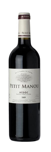 Clos Petit Manou | Frankrijk | gemaakt van de druif: Cabernet Franc, Cabernet Sauvignon, Merlot, Petit Verdot