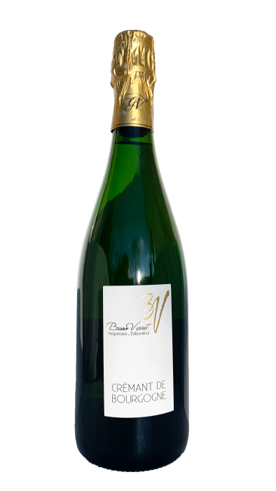 Domaine Verret Crémant de Bourgogne | Frankrijk | gemaakt van de druif: Chardonnay