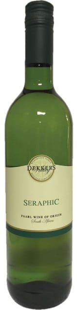 Dekker's Valley Seraphic White | Zuid-Afrika | gemaakt van de druif: Chardonnay, Chenin Blanc, Viognier