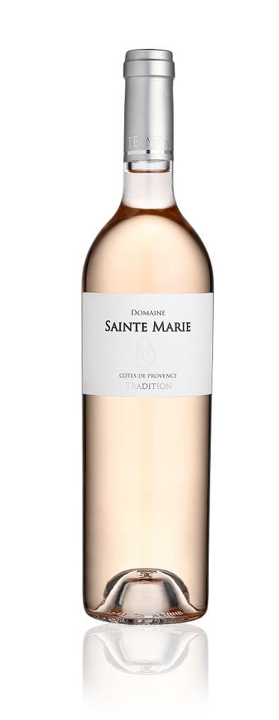 Domaine Sainte Marie rosé   Frankrijk   gemaakt van de druif: Cinsault, Grenache Noir, Mourvèdre, Syrah