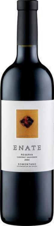 Enate Reserva Cabernet Sauvignon Somontano | Spanje | gemaakt van de druif: Cabernet Sauvignon