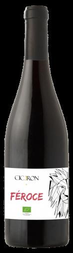 Ciceron – Féroce Pays d'Oc Rouge bio | Frankrijk | gemaakt van de druif: Garnacha Tintorera, Grenache Noir, Merlot