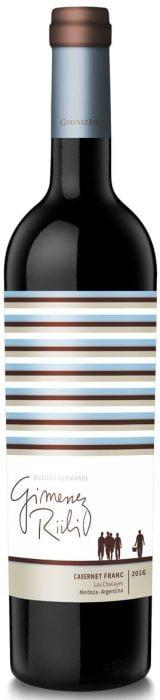 Gimenez Riili – Buenos Hermanos – Cabernet Franc | Argentinie | gemaakt van de druif: Cabernet Franc