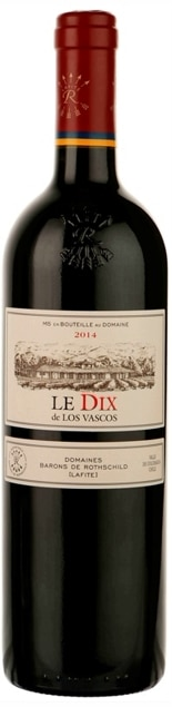 Los Vascos – Le Dix de los Vascos | Chili | gemaakt van de druif: Cabernet Sauvignon, Carmenere, Syrah