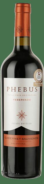 Phebus – Reservado Cabernet Sauvignon Patagonia | Argentinie | gemaakt van de druif: Cabernet Sauvignon