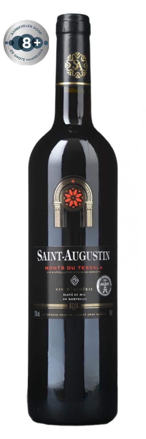 Société des Grands Crus de l'Ouest-Saint-Augustin Rouge | Algerije | gemaakt van de druif: Alicante Bouschet, Cinsault, Grenache Noir