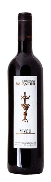 Valentini Vivoli DOC   Italië   gemaakt van de druif: Sangiovese