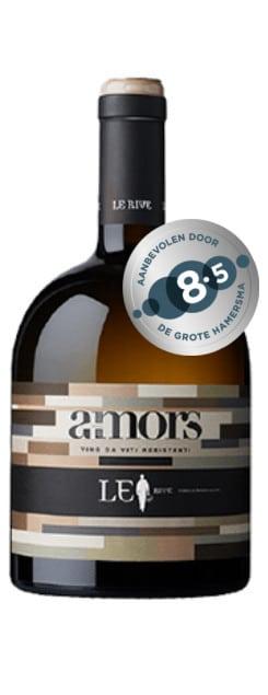 Amors Bianco | Italië | gemaakt van de druif: Fleurtai, Sauvignon Kretos, Soreli