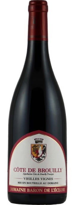 Baron de l'Ecluse Côte de Brouilly Vieilles Vignes | Frankrijk | gemaakt van de druif: Gamay