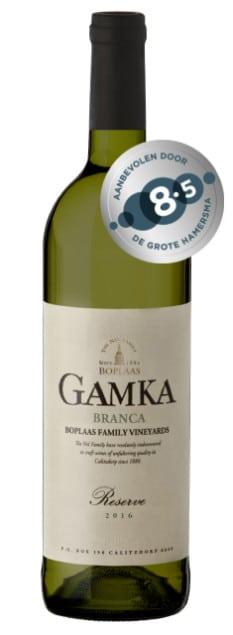 Domaine Luc Pirlet Grande Vallée Blanc | Zuid-Afrika | gemaakt van de druif: Chardonnay, Chenin Blanc, Grenache Blanc, Roussanne, Verdelho, Viognier