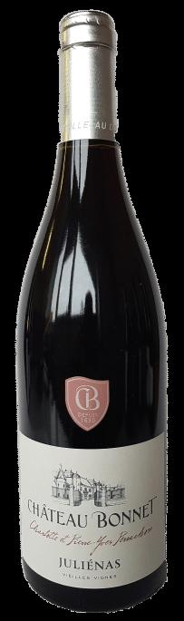 Chateau Bonnet Julienas vieilles vignes | Frankrijk | gemaakt van de druif: Gamay