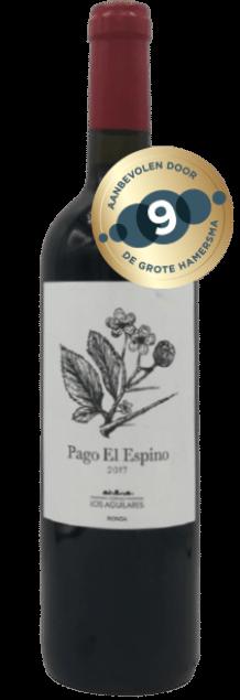 Cortijo los Aguilares Pago El Espino Ronda | Spanje | gemaakt van de druif: Merlot, Petit Verdot, Tempranillo
