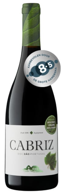Dao Cabriz Organic Tinto | Portugal | gemaakt van de druif: Alfrocheiro, Tinto Roriz, Touriga Nacional