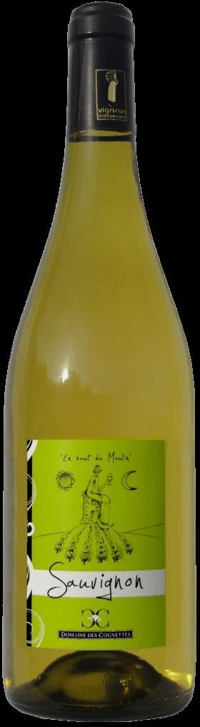 Des Cognettes – Val de Loire Sauvignon Blanc bio | Frankrijk | gemaakt van de druif: Sauvignon Blanc