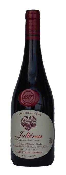 Domaine Boulet Julienas Cuvée Vieilles Vignes | Frankrijk | gemaakt van de druif: Gamay