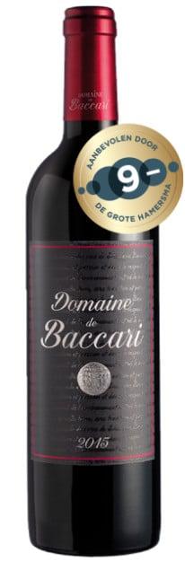 Domaine de Baccari-Domaine de Baccari Rouge | Marokko | gemaakt van de druif: Cabernet Sauvignon, Syrah