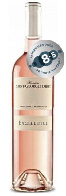 Domaine Saint Georges d'Ibry Excellence Rosé bio | Frankrijk | gemaakt van de druif: Cinsault, Grenache Noir, Syrah