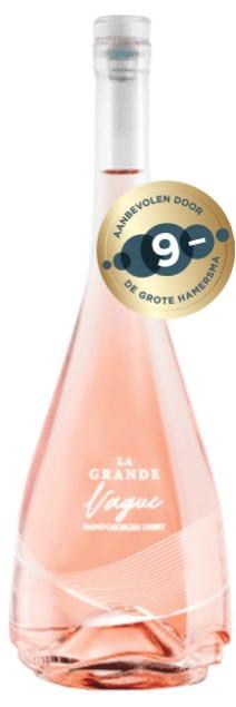 Domaine Saint Georges d'Ibry La Grande Vague Rosé bio | Frankrijk | gemaakt van de druif: Cinsault, Grenache gris, Grenache Noir, Syrah