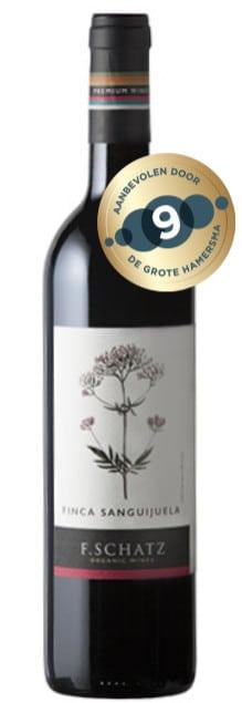 F.Schatz Finca Sanguijuela bio vegan | Spanje | gemaakt van de druif: Cabernet Sauvignon, Merlot, Syrah, Tempranillo