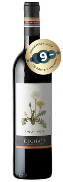 F. Schatz Pinot Noir ECO BD NAT VEGAN Ronda | Spanje | gemaakt van de druif: Pinot Noir