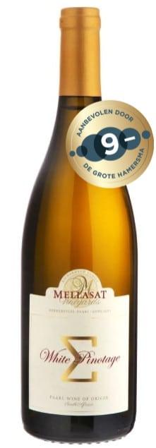 Mellasat White Pinotage | Zuid-Afrika | gemaakt van de druif: Pinotage