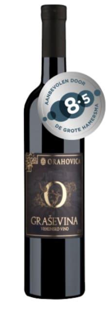 Orahovica Graševina Premium Vegan | Kroatië | gemaakt van de druif: Graševina