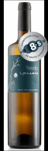 Yenda Spicata Sel d'Aiz Cantabria bio | Spanje | gemaakt van de druif: Albariño, Godello, Riesling