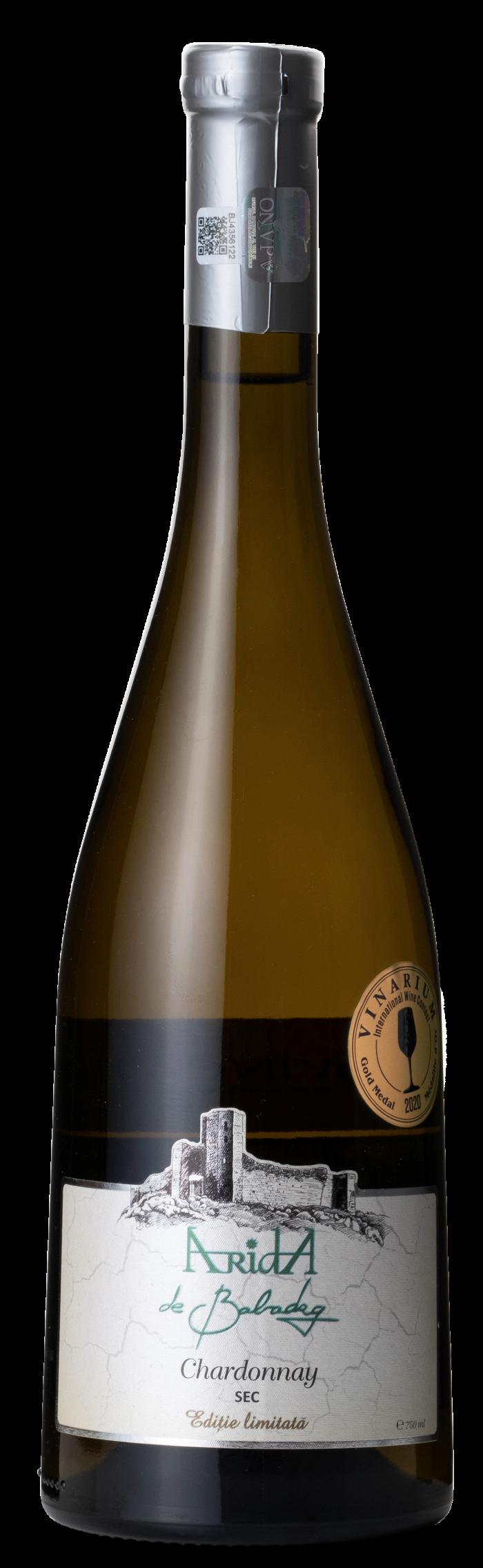 ARIDA de Babadag Chardonnay | Roemenië | gemaakt van de druif: Chardonnay