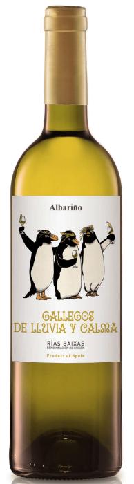 Gallegos de Lluvia y Calma albariño joven Galicie bio | Spanje | gemaakt van de druif: Albariño