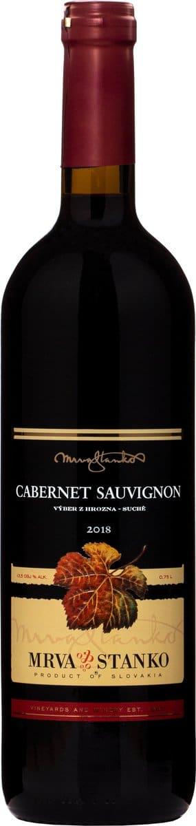 MRVA STANKO Cabernet Sauvignon | Slowakije | gemaakt van de druif: Cabernet Sauvignon